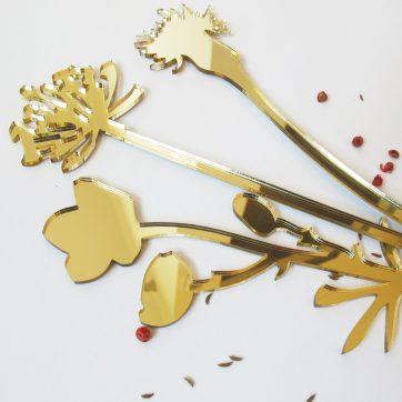 Bica fiori perenni oro
