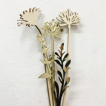 Bica fiori perenni oro dett