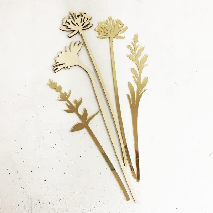 Bica fiori perenni oro muro
