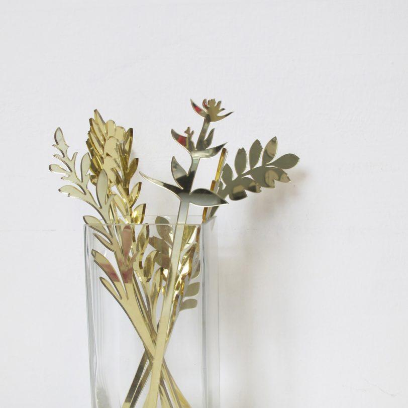 Bica fiori perenni oro vaso