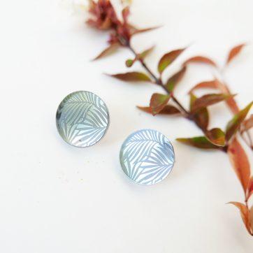 Bica orecchini dots silver