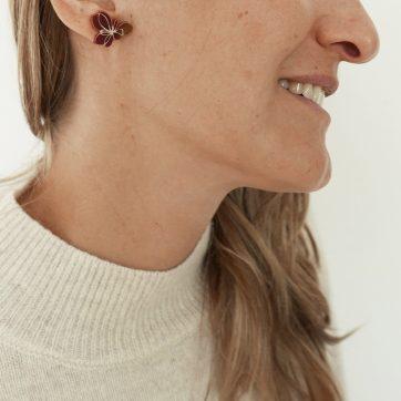 Bica orecchini small blosso dettaglio