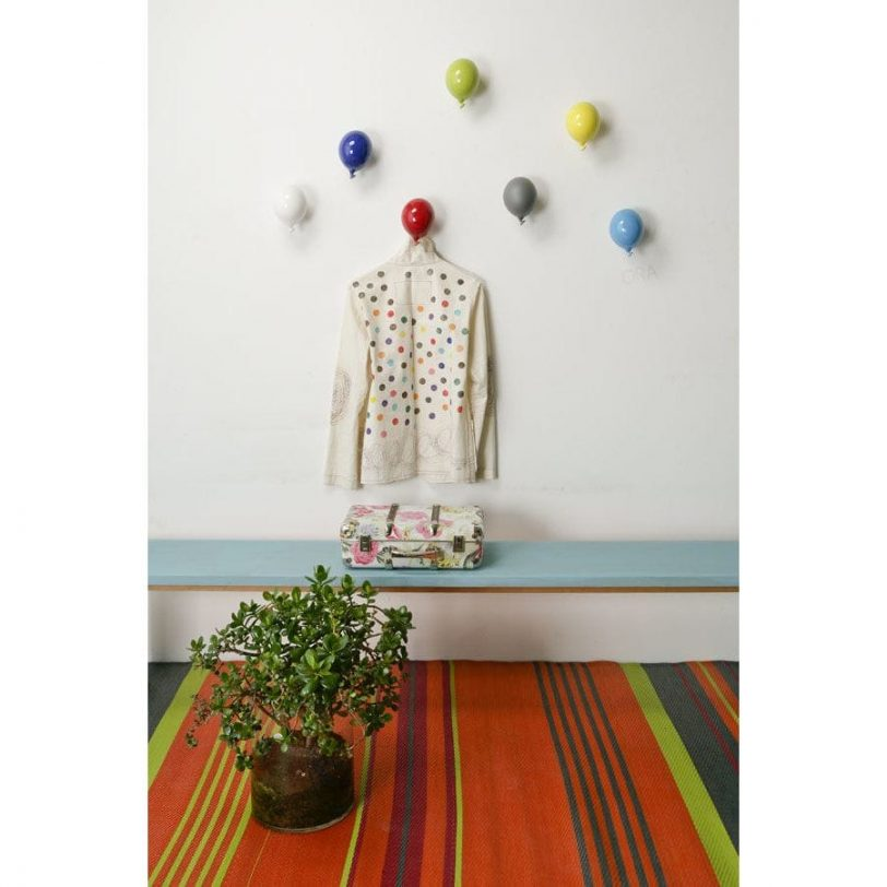mini balloons parete