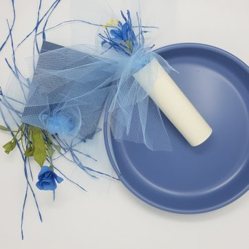 collection of love package bomboniere blue