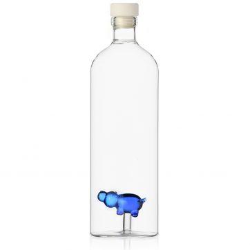 ANIMAL FARM Bottle Blue Hippo