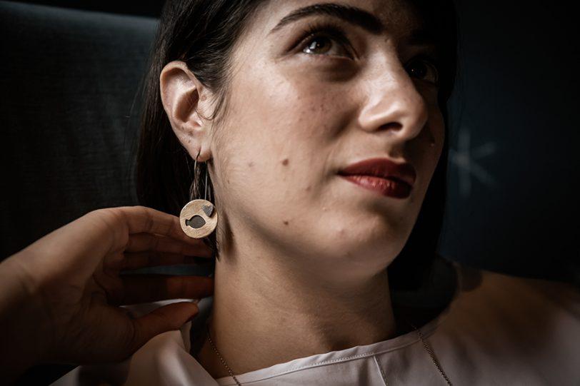 LA SARDINA INNAMORATA orecchini